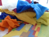 1 Vorfilz in verschiedenen Farben