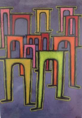 """Paul Klee """"Revolution des Viadukts"""" (1937)"""