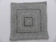 """Sitzkissen """"grey pattern 3"""""""