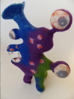 * Monster Nr. 7 (ca. 40 x 30 x 5 cm)