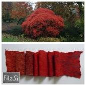 2016.11 autumnal scarf